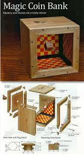 wooden coin bank plans woodworking plans and projects