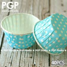 candy cups wholesale wholesale pgp sky blue polka dot paper nut candy cups cupcake
