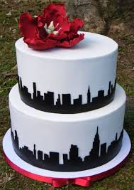 wedding cake nyc new york skyline wedding cake cake by nicolette pink cakesdecor