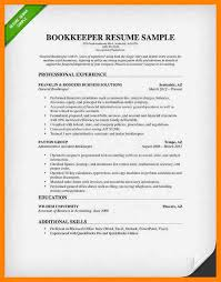 junior bookkeeper resume 87 glamorous cv format example examples