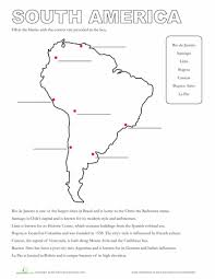 map of south america south america worksheets and america