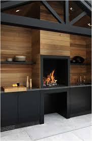 cuisine au feu de bois four a pizza bois interieur cuisine cheminee feu