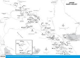 california map napa printable travel maps of california wine country moon