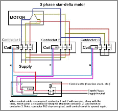 wiring diagram wiring diagram 3 phase star delta starter