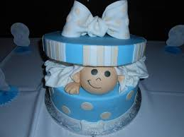 my super cute and yummy baby shower cake that everyone thought was