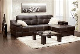 wall decoration brown leather sectional sofas with recliner and