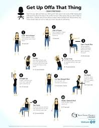 Exercise At The Office Desk Office Desk Chair Workouts Office Chair Exercise Equipment Workout