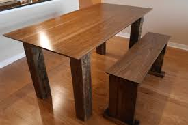 Wooden Table Plans Free by Diy Dining Room Table Plans Provisionsdining Com