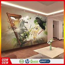 esthetic horse running to the mirror artist painting murals for esthetic horse running to the mirror artist painting murals for wall buy custom wall paper 3d horse wallpaper horse 3d wall mural for home product on