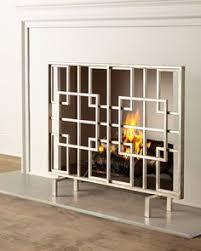 Single Fireplace Screen by Lexington Single Panel Fireplace Screen I N T E R I O R S