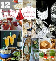 new year u0027 s eve party ideas food printable drink place of