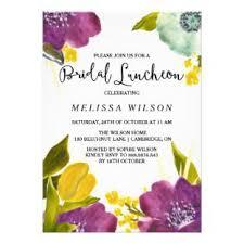 bridal shower luncheon invitations bohemian bridal shower invitations galet press