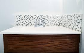 glass tile backsplash ideas bathroom bathroom tile backsplash ideas bathroom non sink by evit glass