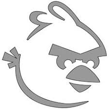 angry birds stencil start download red bird