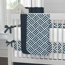 Navy Blue And White Crib Bedding by Nautical Baby Bedding Click To See This Amazing Design Nautical