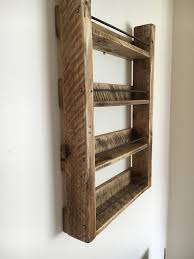 Old Fashioned Spice Rack Spice Rack Wood Spice Rack 4 Shelf By Spudscreativeasylum On Etsy