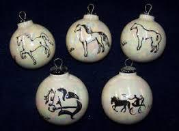 catalog of ceramic bisque equine items