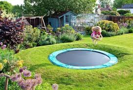 Best Backyard Trampoline by In Ground Vs Above Ground Trampoline Justtrampolines Com