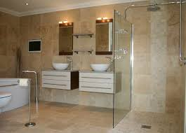 Choosing The Best Ideas For Bathroom Unforeseen Cream Sensation With Double Washbasins Small