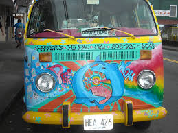 van volkswagen hippie only in puna hopper u0027s hippie art mobile hawaii news and island