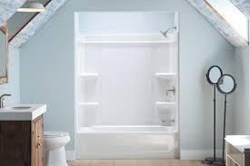 Tongue And Groove In Bathrooms Sterling Offers A Caulk Free Shower Installation Builder