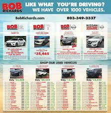 nissan finance request title bob richards nissan in the news beech island sc bob richards