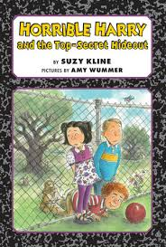 horrible harry and the top secret hideout by suzy