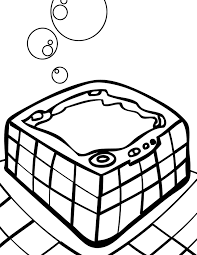 tub coloring page handipoints