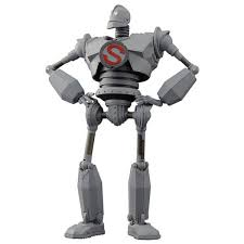 the iron giant sentinel the iron giant diecast riobot action figure 16cm