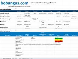 Editorial Calendar Template Excel Free Editorial Calendar Template Bobangus Com