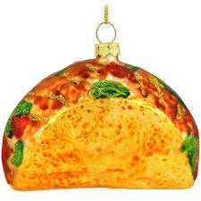 taco glass ornament food u0026 beverage christmas ornaments
