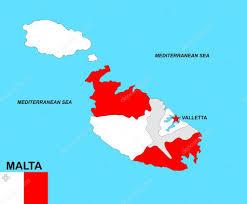 Matla Flag Malta Map U2014 Stock Photo Tony4urban 22504927