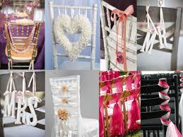 wedding chair decorations simple ideas chair decor