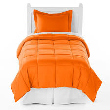 Orange And White Comforter Set Orange Crush Comforter Twin Xl Twin Extra Long Size