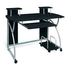 bureau d angle en pin petit bureau dangle en verre noir destine a socialfuzz me