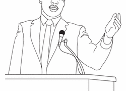 Martin Luther King Worksheets Free Printables Education Com Mlk Coloring Pages