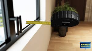 how to measure recess fit plantation shutters inside the window