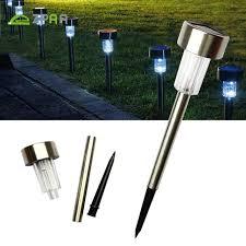Led Solar Landscape Lights 5pcs Led Solar Lawn Lights Waterproof Garden Lights Landscape