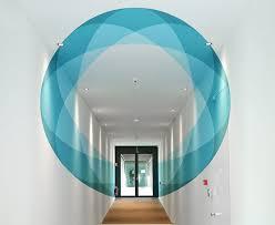 3d mural shape shifting 3d mural changes as you walk through it