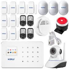 Alarm Systems by Android Ios App Wireless Gsm Home Alarm System Sim Smart Home