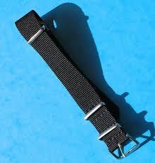 black strap bracelet images Black nato watch strap bracelet 18mm rolex breitling omega jpg