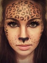 Leopard Halloween Costume 25 Halloween Makeup Ideas Inspired Face Makeup