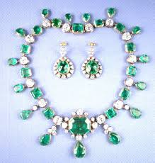 great necklace the catherine the great emerald necklace jewelry