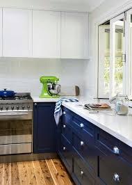 kitchen cabinets with blue doors blue cupboard doors in dulux senate kitchen cabinet styles