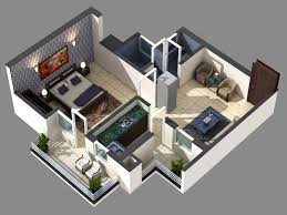 floor plan in 3d overview sunny urban greens at sector 117 greater mohali a2z