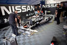 nissan race car delta wing nissan deltawing repaired in less than 24 hours autoevolution
