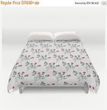 sale duvet cover floral bedding floral duvet cover rose bedding