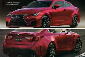 lexus rc f manual rc f gets rendered u2013 should it look like this