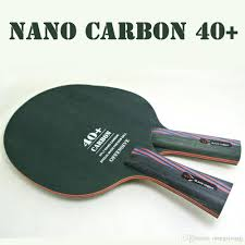 best table tennis racquet original xvt 40 nano carbon fiber table tennis blade table tennis