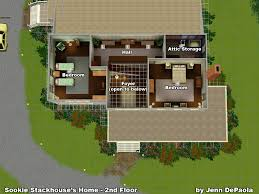 the sims3 true blood the stackhouse house fanboys talking 3 floorplan